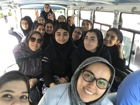 بازديد دانش آموزان يازدهم انساني از موزه ايران باستان