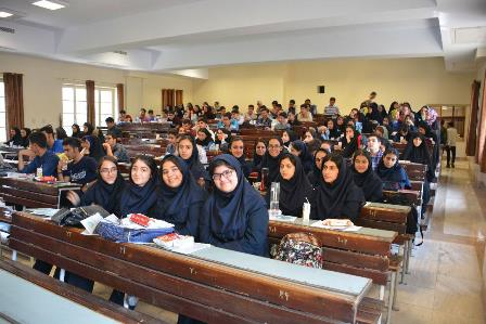 بازدید دانش آموزان پایه 11 از دانشگاه تهران